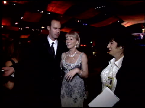 helen mirren at the 2005 academy awards ballroom at the kodak theatre in hollywood, california on february 27, 2005. - helen mirren stock videos & royalty-free footage