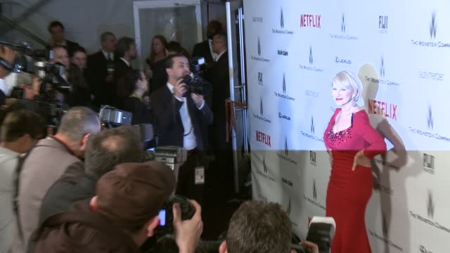 Helen Mirren at the 2015 Weinstein Company And Netflix Golden Globe After Party at Robinsons May Lot on January 11 2015 in Beverly Hills California