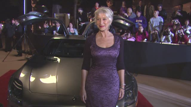 Helen Mirren at the 22nd Annual Palm Springs International Film Festival Awards Gala at Palm Springs CA
