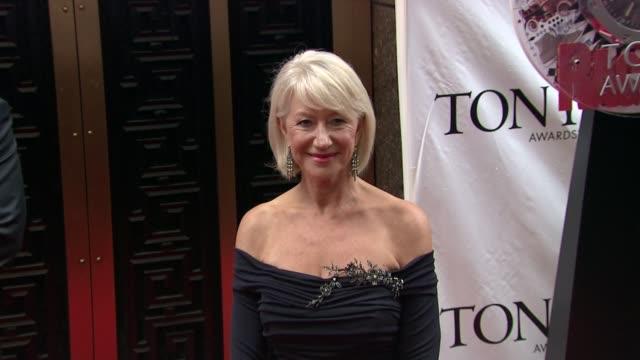 Helen Mirren at the 64th Annual Tony Awards at New York NY