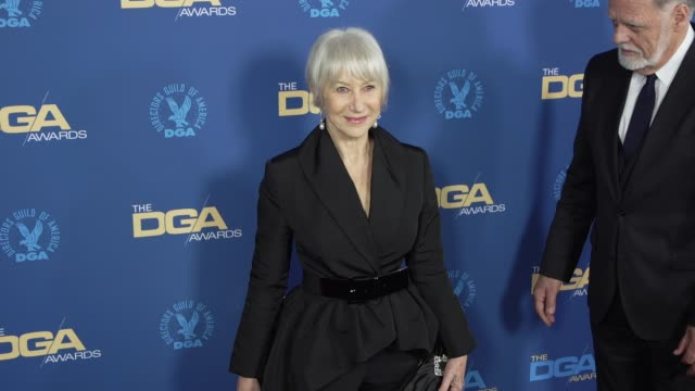 helen mirren at the 71st annual dga awards at the ray dolby ballroom at hollywood highland center on february 02 2019 in hollywood california - director's guild of america stock videos & royalty-free footage