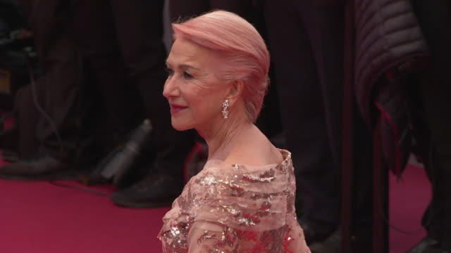 GIF Helen Mirren attends 'The Best Years of a Life ' Red Carpet Arrivals during the 72nd annual Cannes Film Festival on May 18 2019 in Cannes France