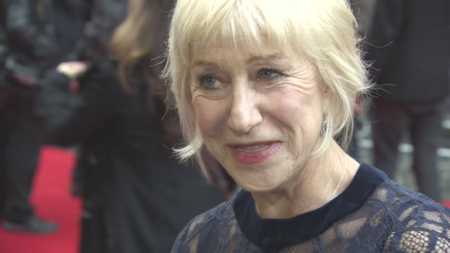 INTERVIEW Helen Mirren on working with Alan Rickman being in 'Game of Thrones watching HBO just finishing of a film called Collateral Damage at Eye...