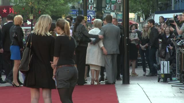 helen mirren & russell crowe at the state of play world premiere at london . - russell crowe stock videos & royalty-free footage