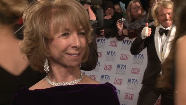helen worth on coronation street how great it would be to win coronation street's 50th anniversary and more at the national television awards at... - soap opera stock videos & royalty-free footage