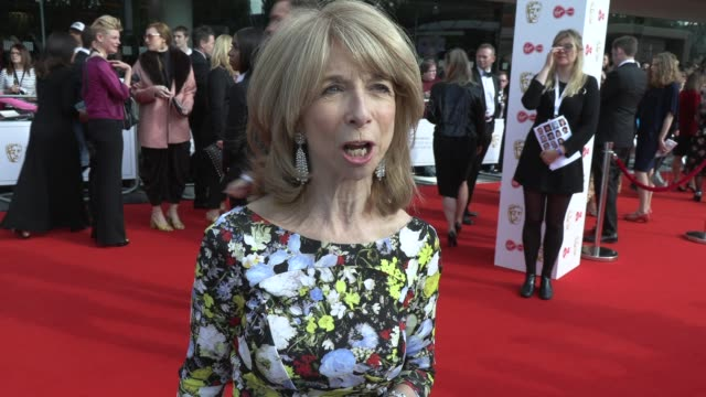 helen worth on her history of 45 years and why the show keeps going at the royal festival hall on may 12 2019 in london england - british academy television awards stock videos & royalty-free footage