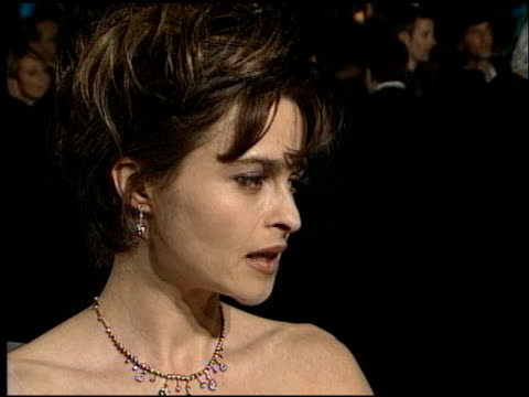 helena bonham carter at the 1998 academy awards vanity fair party at morton's in west hollywood, california on march 23, 1998. - 第70回アカデミー賞点の映像素材/bロール