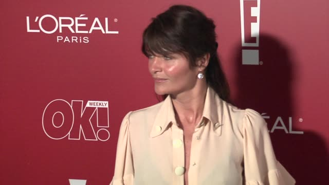 helena christensen at the 2006 weinstein company preoscar party at the pacific design center in west hollywood california on march 4 2006 - pre party stock videos and b-roll footage