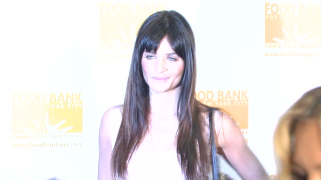 stockvideo's en b-roll-footage met helena christensen at the food bank for new york city's 25th anniversary and 5th annual cando awards dinner at abigail kirsch's pier sixty at chelsea... - chelsea piers
