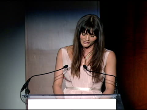 Helena Christensen at the Food Bank For New York City's 25th Anniversary and 5th Annual CanDo Awards Dinner at Abigail Kirsch's Pier Sixty at Chelsea...