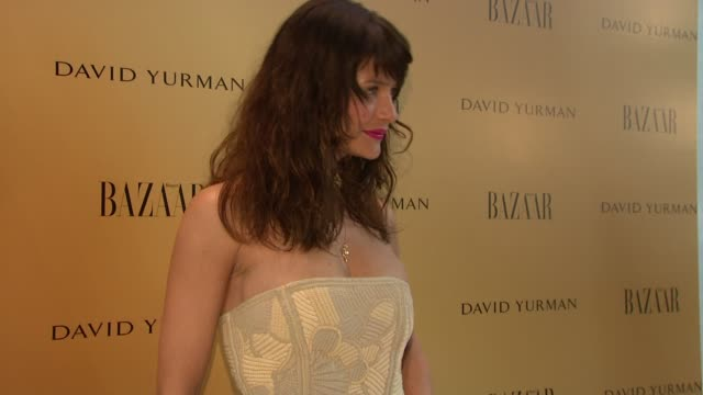 "helena christensen at the harper's bazaar celebrates peter lindbergh and holly fisher's new film ""everywhere at once"" at borough of manhattan... - community college stock videos & royalty-free footage"