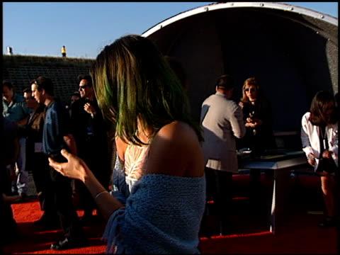 Helena Christiansen at the 1998 MTV Movie Awards at Barker Hanger in Santa Monica California on May 30 1998