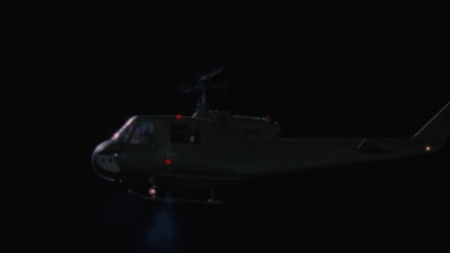 la, ms, helicopter above large explosion at night - military helicopter stock videos and b-roll footage