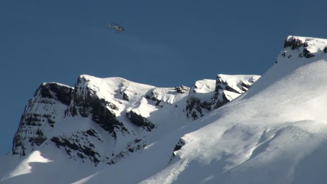 WS  Helicopter at mannlichen / Wegen, Bernese Oberland, Switzerland
