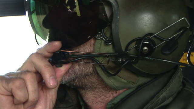 hd: helicopter communication - military helicopter stock videos & royalty-free footage