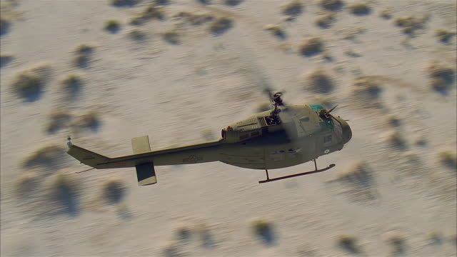 aerial helicopter flying over desert, arizona/utah - helicopter stock videos & royalty-free footage