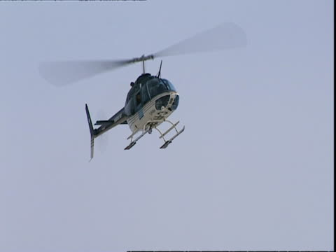 helicopter hovering, hudson bay - hovering stock videos & royalty-free footage