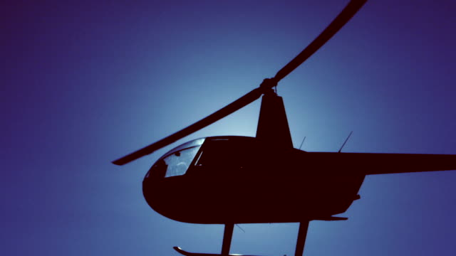 helicopter in flight - helicopter stock videos & royalty-free footage
