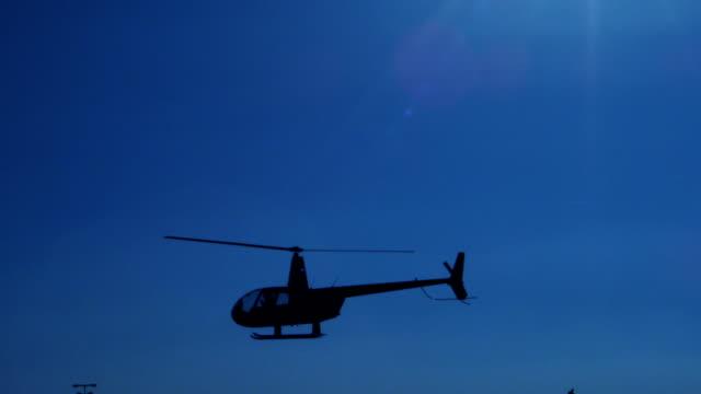 Hubschrauber im Flug