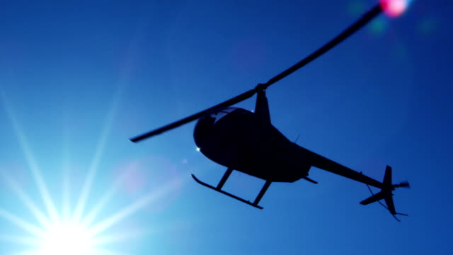 helicopter in flight - helicopter stock videos and b-roll footage