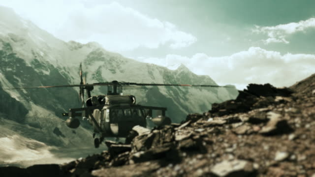 helicopter in the air - military helicopter stock videos & royalty-free footage