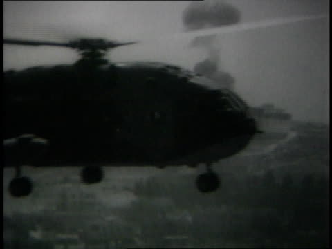 helicopter landing - 1967 stock videos & royalty-free footage