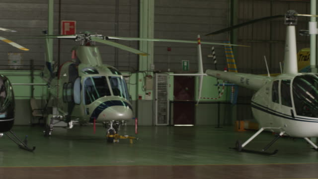 PAN RF WS helicopter maintenance workshop