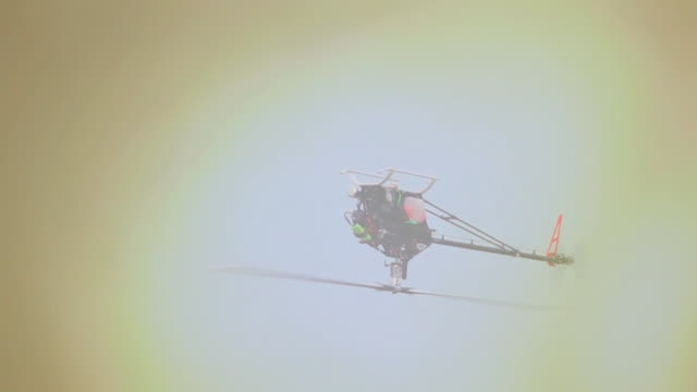 Helikopter model, Slow motion