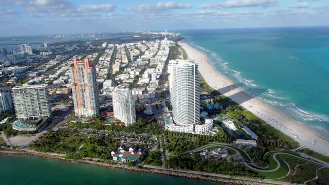 Helicopter ride over South Beach