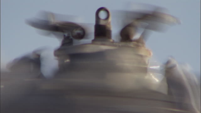 a helicopter rotor spins. - helicopter stock videos & royalty-free footage
