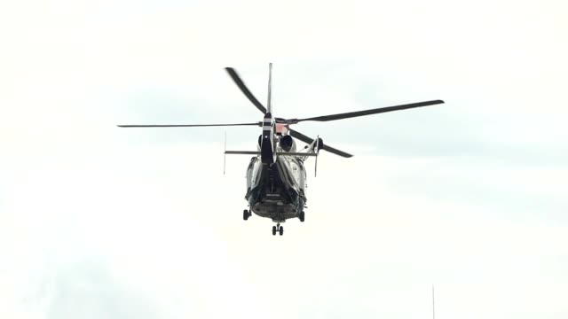 helicopter taking off - helicopter stock videos and b-roll footage