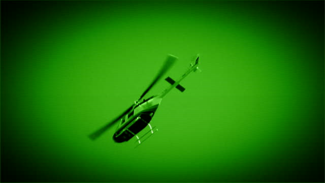 helicopter - night vision stock videos and b-roll footage