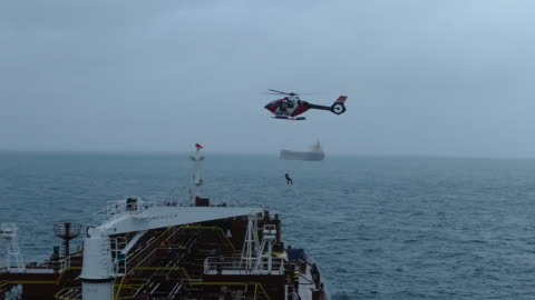 helicopter - industrial sailing craft stock videos & royalty-free footage