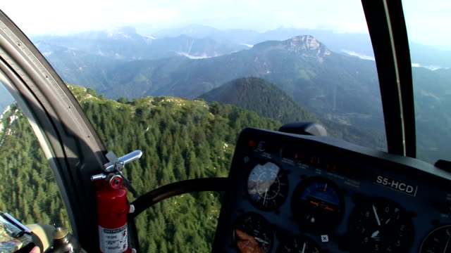 hd: helicopter view - slovenia stock videos & royalty-free footage