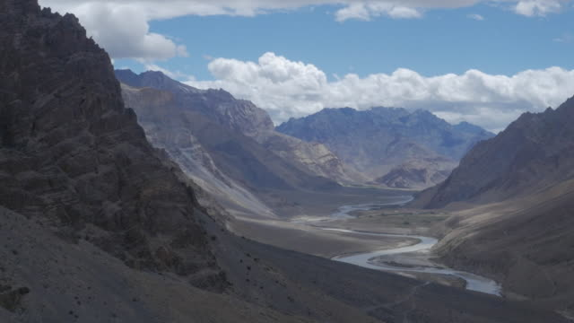 Helicopter views of Ladakh, India