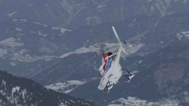 heli-ski - helicopter tour stock videos and b-roll footage