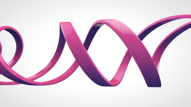dna helix loop - helix model stock videos and b-roll footage