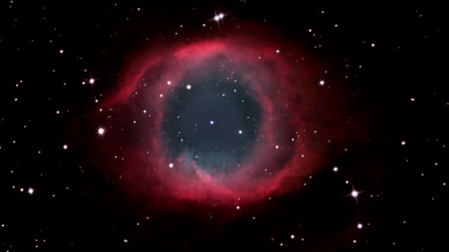 helix nebula (ngc 7293). - nebula stock videos & royalty-free footage
