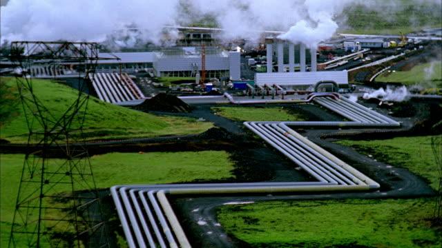 WS TU HA Hellisheidi Geothermal Plant, Hengill, Iceland