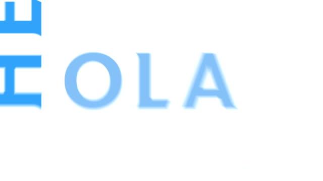vídeos de stock e filmes b-roll de olá, em vários idiomas - aloha