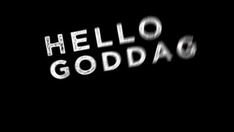 hello in multiple languages - maskinskriven text bildbanksvideor och videomaterial från bakom kulisserna