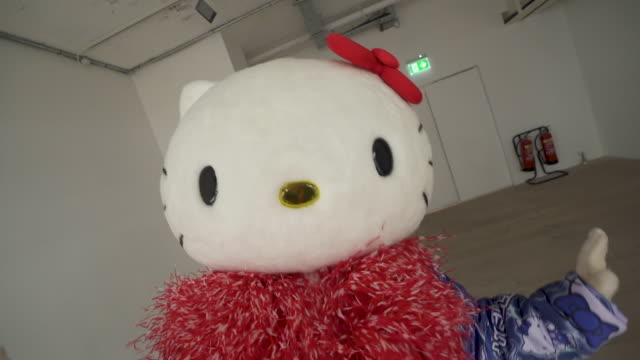hello kitty at on|off lfw september 2019 at bfc show space on september 17 2019 in london england - hello kitty stock videos and b-roll footage
