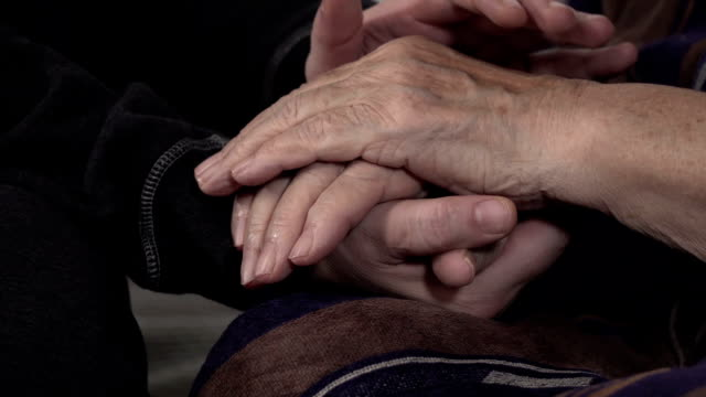 a helping hand - consoling stock videos & royalty-free footage