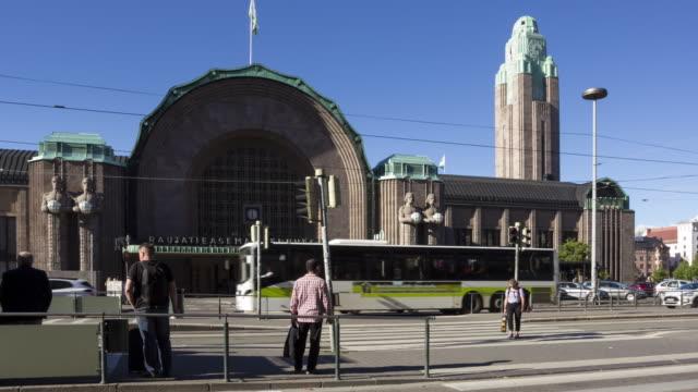 Helsinki Central Railway Station - Helsinki, Finalnd