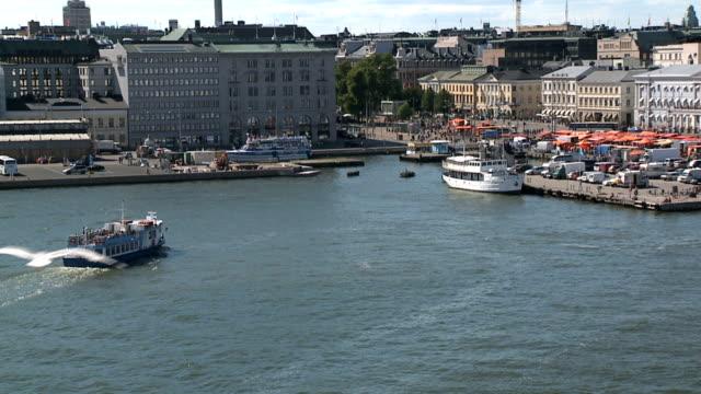 stockvideo's en b-roll-footage met helsinki harbour - haven