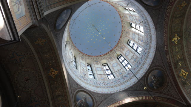Helsinki, the Dome in the Uspensky Cathedral.