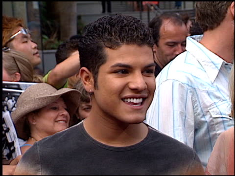 RJ Helton at the American Idol Finale at the Kodak Theatre in Hollywood California on September 4 2002