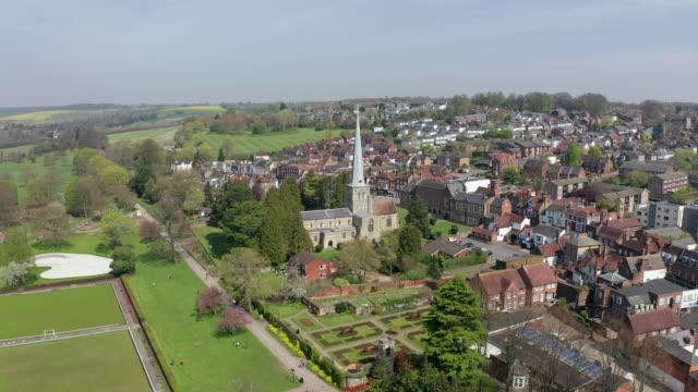 hemel hempstead aerial - pinnacle stock videos & royalty-free footage