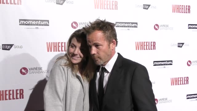 stockvideo's en b-roll-footage met hen dorff kaitlyn dorff at the premiere of momentum pictures' wheeler on january 30 2017 in hollywood california - stephen dorff