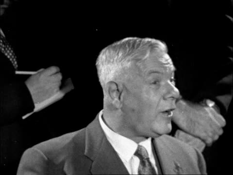 hendrik verwoerd press conference on apartheid england london lap pkf our policy is one of apartheid an afrikaans word and i am afraid it has been... - racial segregation stock videos & royalty-free footage